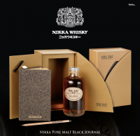 NIKKA PURE MALT - Black Journal - 43% - 0,5 Liter - Limited Edition